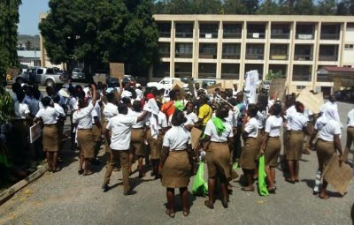 Students of schools of hygiene