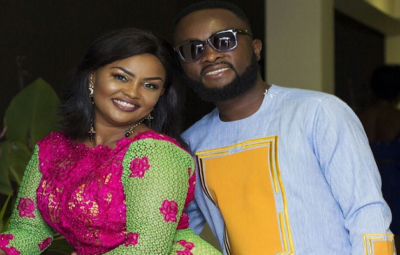 Nana Ama McBrown and Husband