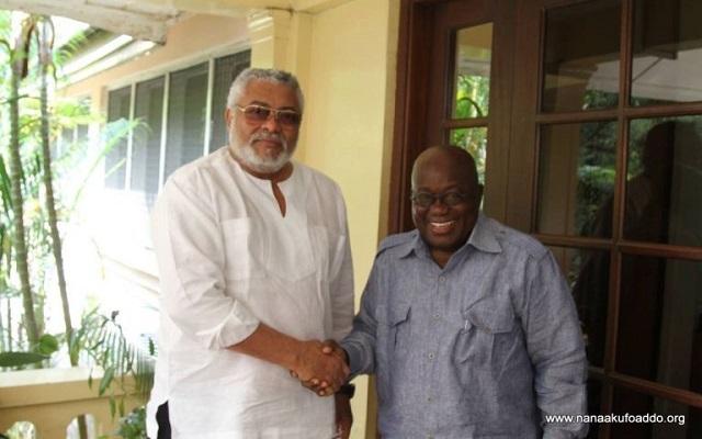 President Akufo-Addo and President Jerry John Rawlings