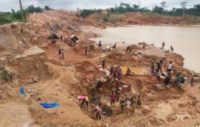 illegal mining in Ghana